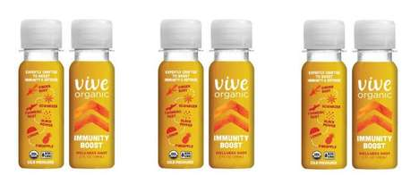 Immunity-Boosting Shooters - The Vive Organic Wellness Shot Offers a Wholesome Body Strengthener