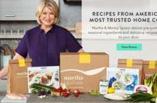 Celebrity-Branded Meal Kits - 'Martha & Marley Spoon' Provides Consumers with Pre-Portioned Recipes