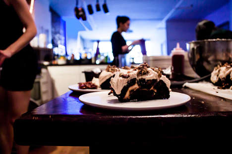 Experimental Dessert Pop-Ups - The Drawing Room is a Bakery and Bar that Roams New York City