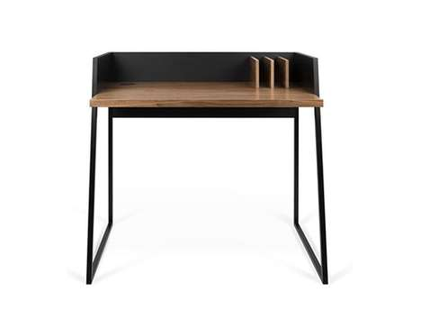 Space-Saving Desks - The Volga Desk Offers a Functional Countertop Designed to Fit the Essentials