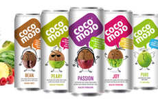 Coconut Fusion Drinks - These Coconut Water Flavored Drinks are Enriched with Other Ingredients