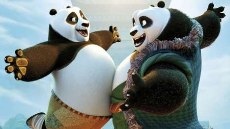 Bicontinental Movie Partnerships - 'Kung Fu Panda 3' Was Coproduced by Oriental DreamWorks