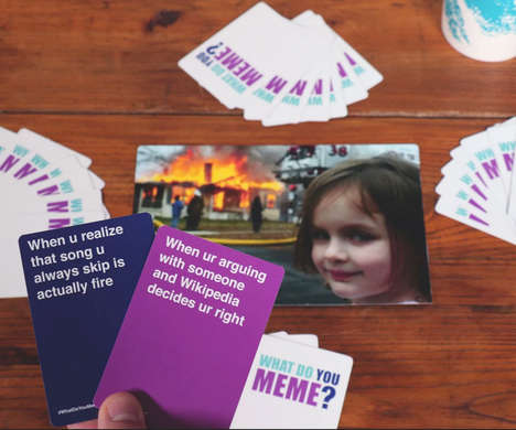 Internet Meme Board Games - The 'What Do You Meme?' Card Board Game Has Players Caption Memes