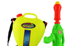 Backpack Water Gun Toys - These Water Guns are a Fun Toy for Hot Summer Days