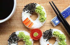 Donut-Shaped Sushi