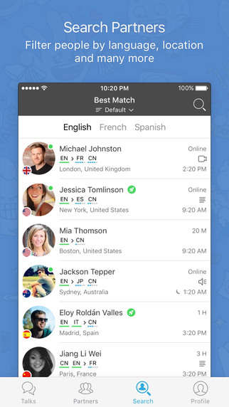 Language Exchange Apps - 'HelloTalk' Helps Users Learn English, Chinese and Even Dothraki