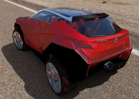 Open-Concept Electric SUVs - The Nissan 'Experve' Conceptual Car Design is Efficient in Design