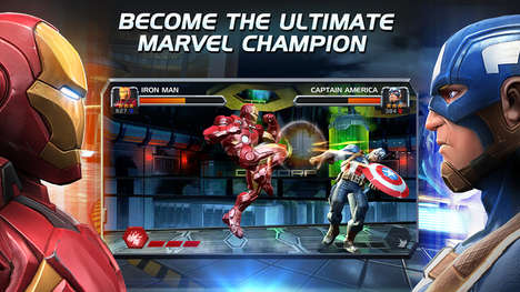Combative Superhero Games - 'Marvel: Contest of Champions' is a Top iOS Mobile Game in China
