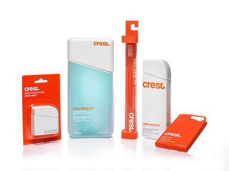 The New Crest Oral Care Products Branding is Bright and Crisp