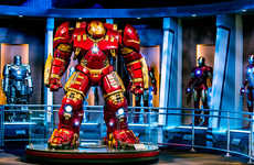 Superhero-Themed Attractions