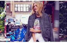 Free People's Summer in the City Lookbook Stars Elsa Hosk