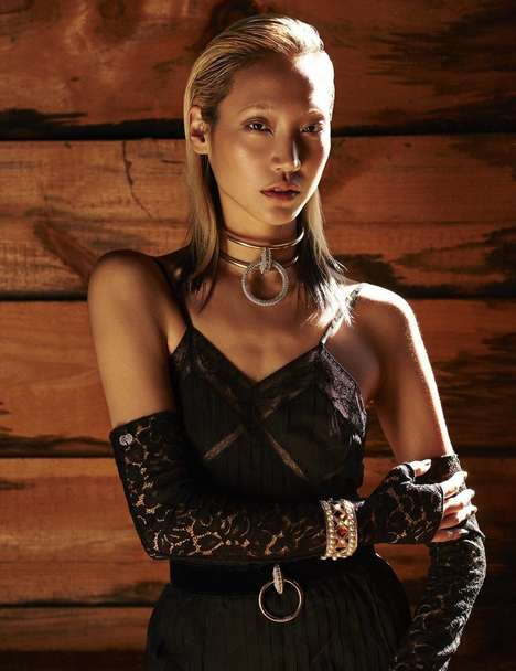 Cabin Luxe Editorials - The Latest Issue of L'Officiel Thailand Stars Model Soo Joo Park