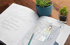 Fantasy Film Coloring Books - The Lord of the Rings Drawings Invite Reimagining of the Mystic World
