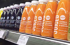 Food Waste Fruit Juices - 'Pod' Created a New Juice Range Made from Wonky Fruits and Vegetables