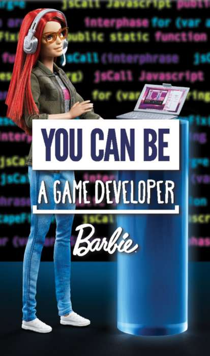 Game Developer Dolls - Barbie is Releasing a Doll with a Game Developer Career