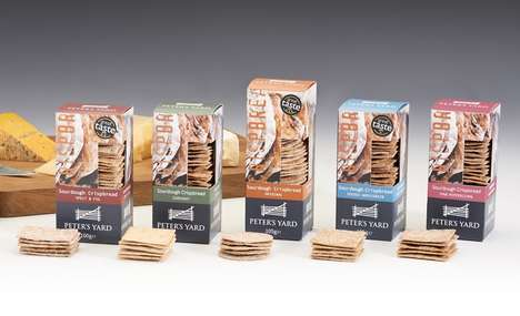Artisanal Snack Packaging - The Peter's Yard Crispbread Biscuit Crackers are for Cheese Aficionados