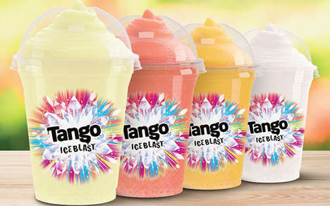 Celebratory Frozen Drink Flavors - Slush Puppie Tango Ice Blast Will Be Celebrated at Cinemas