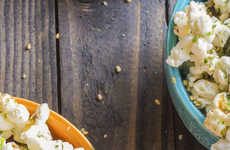 Piquant Antioxidant Popcorn - This Season Popcorn Recipe Combines Matcha and Cayenne Powder