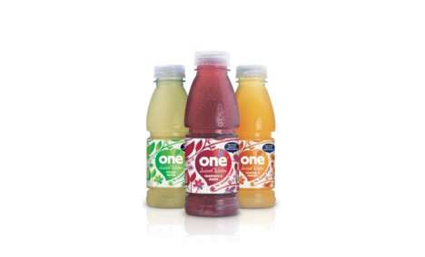 Light Fruit Juices - One's 'Juiced Water' Combines Spring Water and Natural Fruit Juice