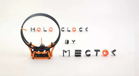 Printable Ring Clocks - This 3D-Printed Clock Design Embraces an Exposed Gear-Powered Design