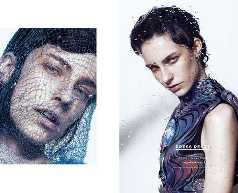 Futuristic Couture Portraits