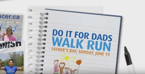 Father's Day Fun Runs - The 'Do It for Dads Walk Run' Raises Funds for Prostate Cancer
