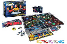 Intergalactic Domination Board Games - The Star Trek 50th Anniversary Risk Game is Commemorative