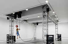 Robotic Marionette Exhibits