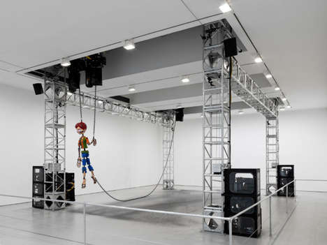 Robotic Marionette Exhibits - Jordan Wolfson's Creation Features a Giant Fast-Moving Puppet