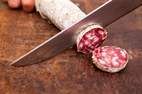 Preservative-Free Salami Meats - The Antica Ardenga 'Free Salami' Contains No Nitrates or Nitrites