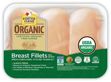 Ultra-Organic Packaged Meats - The Foster Farms Organic Chicken is Antibiotic-Free and Much More