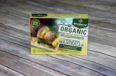 Antibiotic-Free Chicken Meatballs - Bilinski's Healthy Chicken Meatballs Boast Four Ingredients