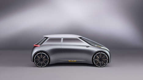 Personalized Car Concepts - The Mini Vision Next 100 Can Change Color Schemes