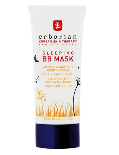 Herbal Sleep Masks - Erborian's Beauty Sleep Mask Transforms a BB Mask for Night Use