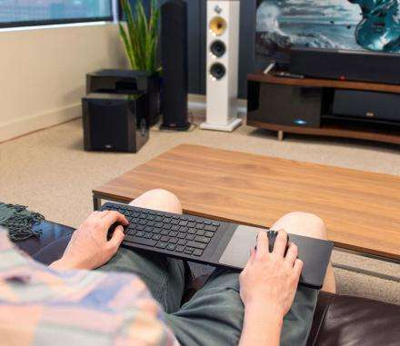 Multi-OS Keyboard Peripherals - The Razer Turret Wireless Gaming Keyboard is for Consoles and PCs