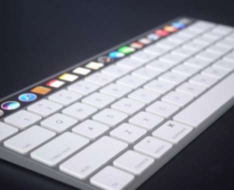 Touchscreen Keyboard Peripherals