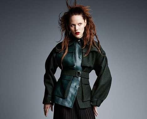 Fierce Oversized Fashion