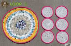 Upcycled Plastic Placemats
