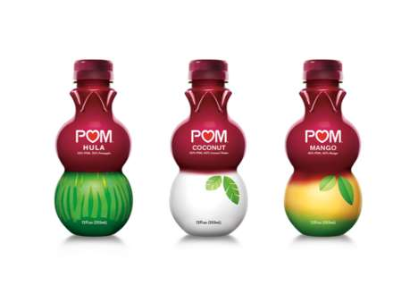 Pomegranate Juice Blends - POM Wonderful Now Comes in Pineapple, Coconut and Mango Flavors