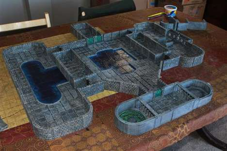 3D-Printed Tabletop Games - Masterwork Tools Launched an Open-Source Collection of Scenery and Tools