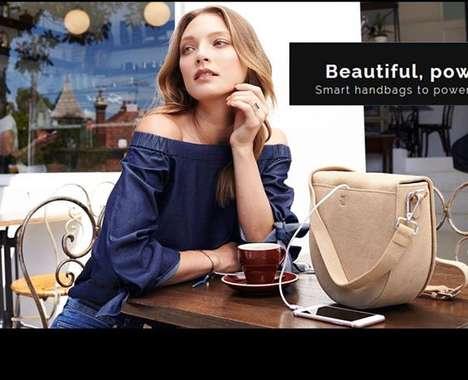 Phone-Charging Smart Bags