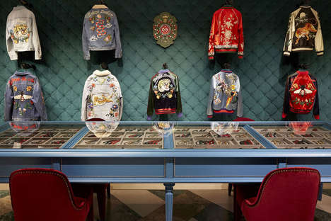 Luxury Clothing Customizations - Gucci is Allowing Consumers to Do DIY Modifications In-Store