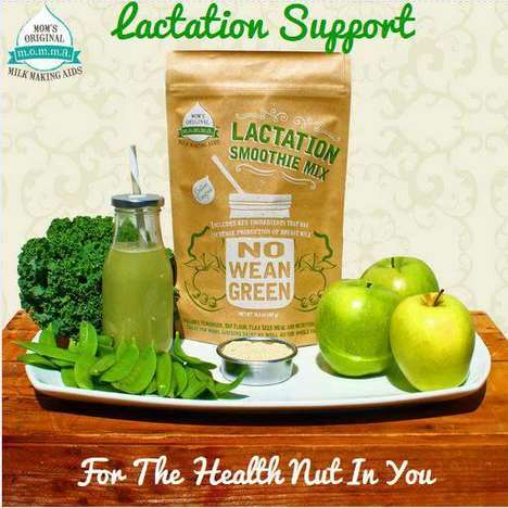 Postnatal Smoothie Mixes - These Lactation Smoothie Mixes Help Moms Maintain a Healthy Milk Supply