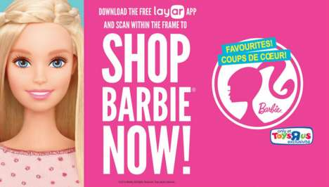 AR-Powered Doll Displays - Mattel's App-Connected Barbie Display Features Scannable Products