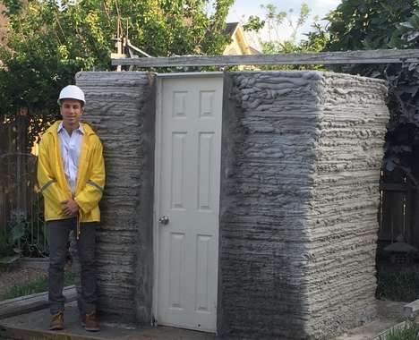 Printed Concrete Micro-Homes
