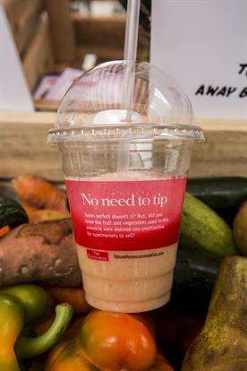Ugly Fruit Smoothies - The Economists's 'From Bin to Blender' Campaign Shares Blended Smoothies
