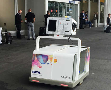 Luggage-Collecting Robots