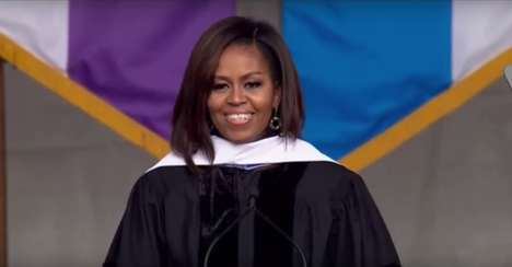 The Greatness of Diversity - Michelle Obama's Talk About Diversity is a 2016 Commencement Address