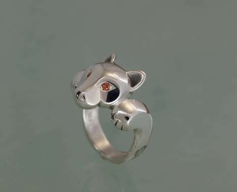 Elegant Animal Rings