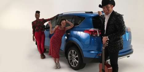 Musical Social Media Campaigns - The New Toyota Campaign Taps Snapchat and Popular Latin Musicians